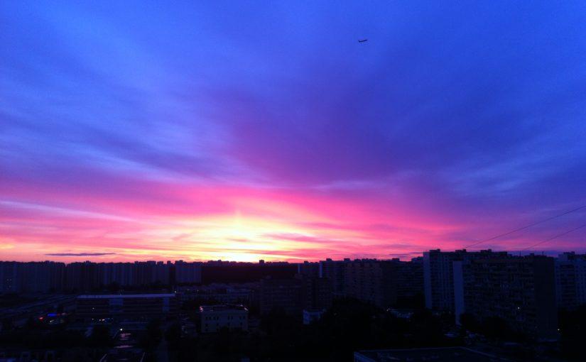 Закат Ново-Переделкино