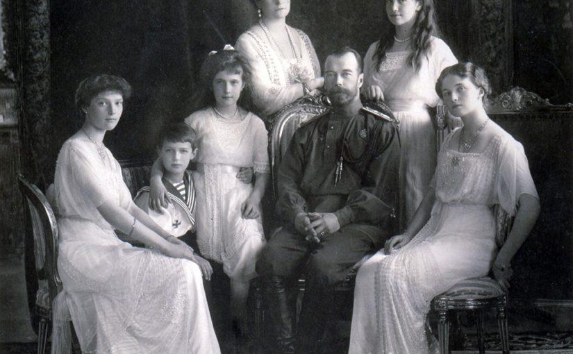император Николай 2 с семьей