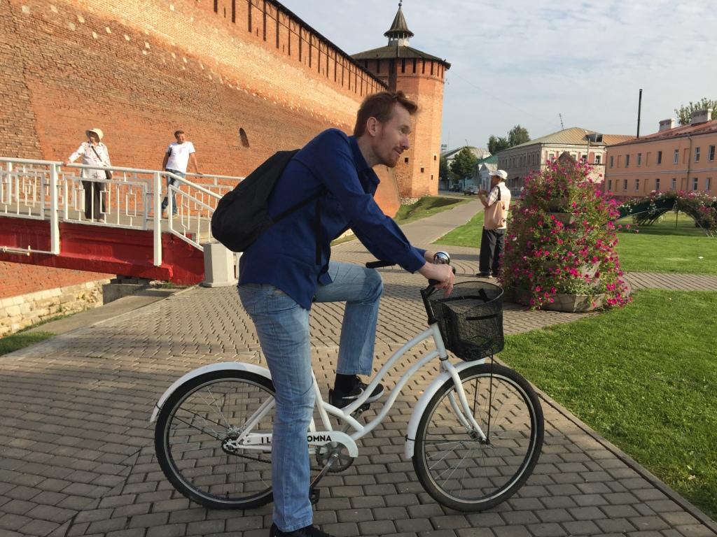 На велосипеде по Коломне